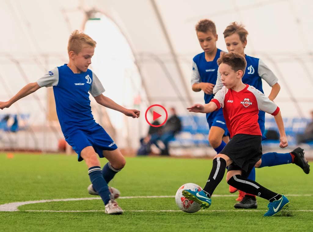 Детский футбол в Минске