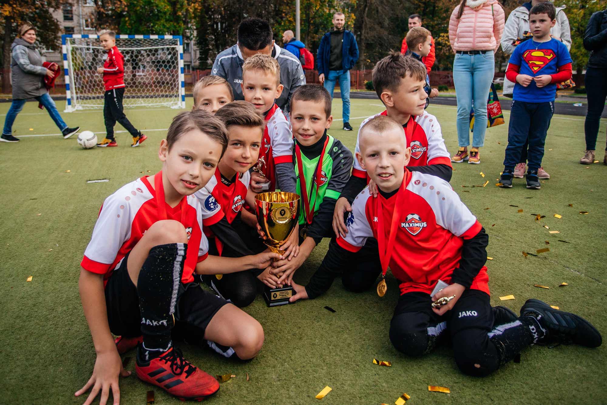 футбол для детей минск